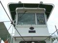 [風景][船]☆398:富山県営渡船「海竜」操舵室/堀岡発着場090725