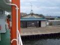 [風景][船]☆399:富山県営渡船「海竜」/堀岡発着場出発090725