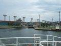 [風景][船]☆403:富山県営渡船「海竜」から堀岡発着場090725