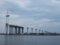 ☆408:富山県営渡船「海竜」から建設中の新湊大橋(堀岡側)090725