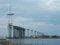 ☆409:富山県営渡船「海竜」から建設中の新湊大橋(堀岡側)090725