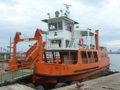 [風景][船]☆413:富山県営渡船「海竜」/越の潟発着場090725