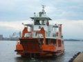 [風景][船]☆426:富山県営渡船「海竜」/越の潟発着場出発090725