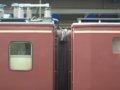 [鉄道][貫通幌]★クモヤ442-2(左)+443-2(右)(電気検測試験車)連結面/大阪駅06.09