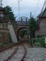 [鉄道][風景][駅]☆543:えちぜん鉄道三国港駅手前の眼鏡橋090725
