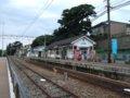 [鉄道][風景][駅]☆544:えちぜん鉄道三国港駅/車止め方向090725