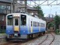 [鉄道][貫通幌]☆545:えちぜん鉄道MC6105/三国港駅到着090725