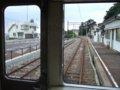 [鉄道]☆566:えちぜん鉄道MC6105車内から/三国港駅090725
