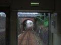 [鉄道][風景]☆568:えちぜん鉄道MC6105三国港駅出発(めがね橋通過)090725