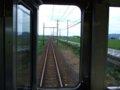 [鉄道][風景]☆570:えちぜん鉄道MC6105車内から(西長田-西春江間)090725