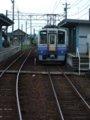 [鉄道][風景][貫通幌]☆571:えちぜん鉄道西春江駅/三国港行き(MC6110)と列車交換