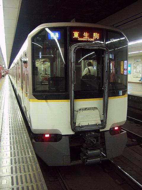 ★003:近鉄5820系(ク5725)尼崎発普通/上本町駅091003