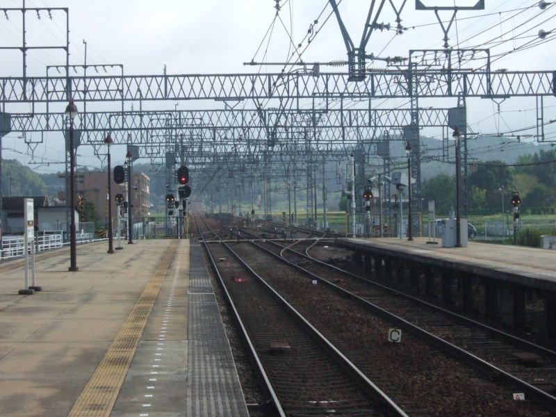 ★013:近鉄大阪線・青山町駅/伊勢中川方面091003
