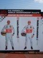 [F1]★062:ドライバーズパネル(01ハミルトン02コバライネン)/GPスクエア