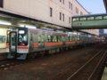 [鉄道][貫通幌]★263:JR東海キハ75-303等4連快速「みえ」/津駅091004
