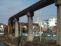 [鉄道][風景]☆137:姫路モノレール遺構(山陽新幹線北側部分)