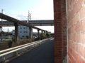 [鉄道][風景]☆141:姫路モノレール遺構(山陽新幹線アンダークロス方面)