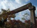 [鉄道][風景]☆144:姫路モノレール遺構(旧大将軍駅跡手前で再度途切れるレール)