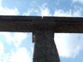 [鉄道][風景]☆166:姫路モノレール遺構(山陽新幹線北側・レールと橋桁)