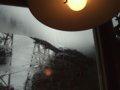 [餘部][鉄道][風景]餘部探訪(71)橋の下の喫茶店から…余部鉄橋橋脚とランプシェード080113