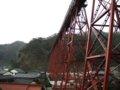 [餘部][鉄道][風景]餘部探訪(87)余部鉄橋橋脚と余部の集落080113