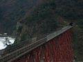 [餘部][鉄道][風景]餘部探訪(91)余部鉄橋-「お立ち台」から橋の香住寄りを080113