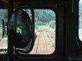 [鉄道][キハ40系][風景]餘部探訪(127)171D(キハ47-13等2両)列車交換待ち/香住駅090814
