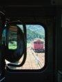 [鉄道][キハ40系][風景]餘部探訪(129)対向列車172D到着/香住駅090814