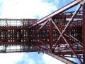 [鉄道][風景]餘部探訪(156)余部鉄橋・橋桁の真下から(ズームアップ)090814