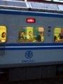 [鉄道][台鐵EMU400][貫通幌]★108:區間車2545次(基隆-湖口)EMC401車番表示/汐科100618