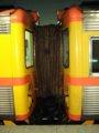[鉄道][台鐵DR2800][貫通幌]★186:自強号1080次(知本→樹林)DR2802+2827連結面/松山100618