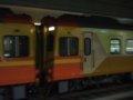 [鉄道][台鐵EMU300][貫通幌]★194:自強号2044次(蘇澳→樹林)EM306+EMC308連結面/松山100618