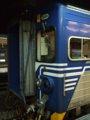 [鉄道][台鐵EMU600][貫通幌]★195:區間車2255次(基隆→新竹)EMC605前頭部/台北100618 22:54