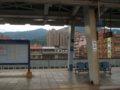 [鉄道][駅][風景]★214:縦貫線・汐止車站(東側住宅地)駅名標とともに100619