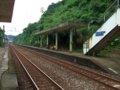 [鉄道][風景][駅]★234:台鐵宜蘭線・暖暖車站-瑞芳方面(遠景:區間車3209次)