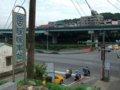 [鉄道][風景][駅]★238:台鐵宜蘭線・暖暖車站-駅名看板と駅前交差点100619