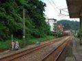 [鉄道][風景][駅]★258:台鐵宜蘭線・暖暖車站(八堵方面)-線路脇の側溝が非公式の通路