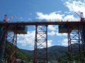 [鉄道][風景]餘部探訪(176)余部鉄橋・直下の海岸から090814