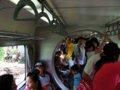 [鉄道][台鐵DR1000][風景]★290:區間車3211次(DR1029)/満員の車内・もうすぐ十分