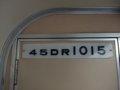 [鉄道][台鐵DR1000]★345:區間車3214次(菁桐-瑞芳)DR1015車内車番表示