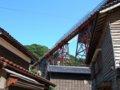 [鉄道][風景]餘部探訪(218)余部集落から余部鉄橋090814