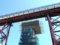 餘部探訪(225)余部鉄橋橋脚-新鉄橋の橋脚建設中090814