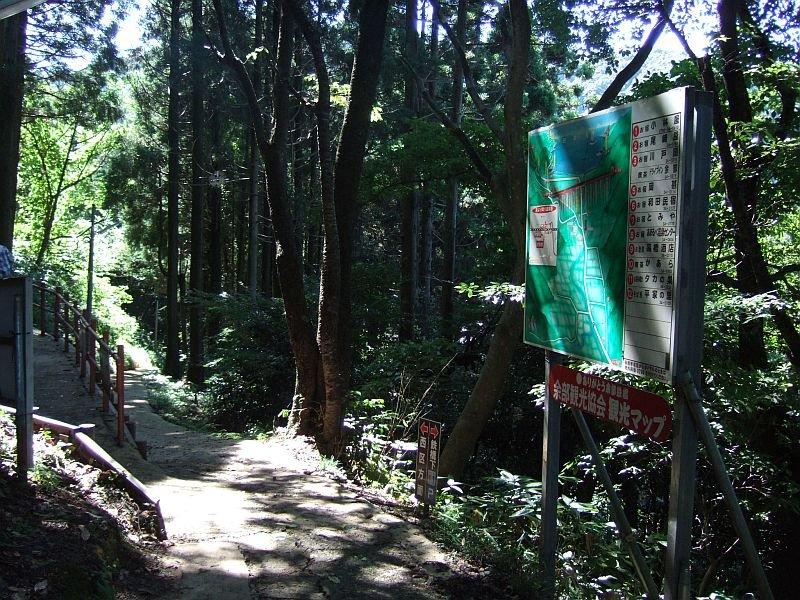 餘部探訪(228)余部集落から餘部駅への通路090814