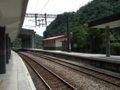 [鉄道][風景][駅]★347:宜蘭線・三貂嶺車站-瑞芳・八堵方面100619
