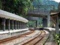 [鉄道][風景][駅]★356:宜蘭線・三貂嶺車站-瑞芳・八堵方面100619