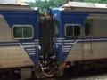 [鉄道][台鐵EMU600][貫通幌]★373:EMU600形2編成試運転列車(下行)EMC600同士連結面/三貂嶺通過11:33頃