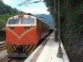 [鉄道][台鐵EL]★378:E300形EL牽引水泥(セメント)列車/三貂嶺到着11:42頃