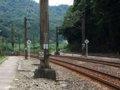[鉄道][風景]★399:三貂嶺車站南側-宜蘭線と平渓線分岐点付近100619