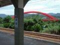 [鉄道][風景]★416:區間車2713次(樹林-宜蘭)車窓-貢寮駅到着100619