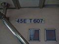 [鉄道][台鐵EMU600]★419:區間車2713次(樹林-宜蘭)ET607車内車番表示100619